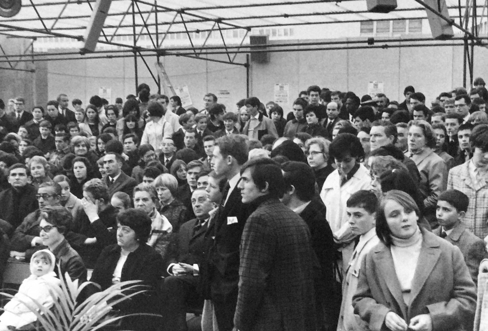 Inauguration Maison populaire - 1966